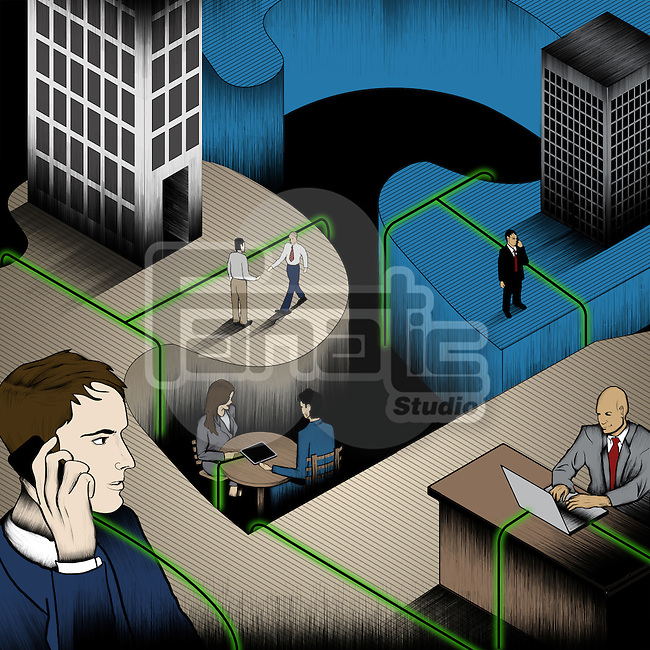 Concept of business networking