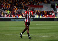 22nd May 2021; Brentford Community Stadium, London, England; English Football League Championship Football, Playoff, Brentford FC versus Bournemouth; Ivan Toney of Brentford applauding the Brentford fans after full time