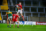 Ian MaGuire, Cork, in action against Jack Barry, Kerry during the Munster GAA Football Senior Championship Semi-Final match between Cork and Kerry at Páirc Uí Chaoimh in Cork.