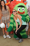 Stephanie Pratt & The cast of Yo Gabba Gabba! at the celebration of Habitat for Humanity Partnership with Home Build in Lynwood, California on August 12,2010                                                                               © 2010 Debbie VanStory / Hollywood Press Agency