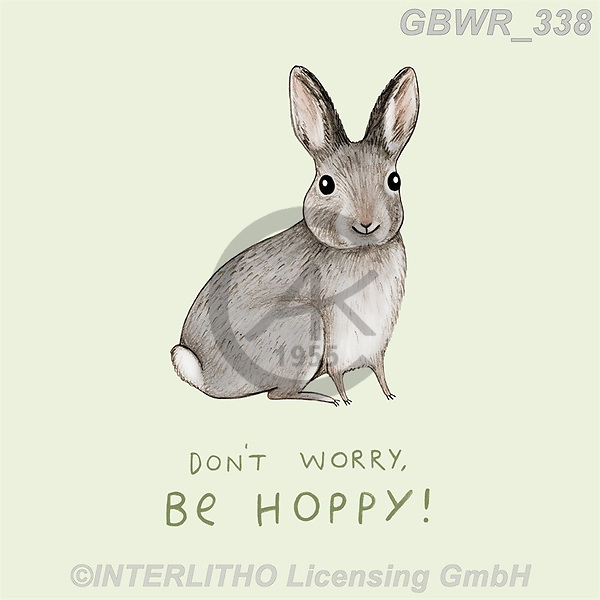 Simon, REALISTIC ANIMALS, REALISTISCHE TIERE, ANIMALES REALISTICOS, innovativ, paintings+++++SophieCorrigan_DontWorryBeHoppy,GBWR338,#a#, EVERYDAY
