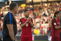 Commerce City, CO - Thursday June 08, 2017: Clint Dempsy during a 2018 FIFA World Cup Qualifying Final Round match between the men's national teams of the United States (USA) and Trinidad and Tobago (TRI) at Dick's Sporting Goods Park.