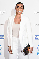 Amal Fashanu<br /> arriving for the Football for Peace initiative dinner by Global Gift Foundation at the Corinthia Hotel, London<br /> <br /> ©Ash Knotek  D3493  08/04/2019