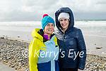 Eileen and Aoife Counihan from Banna enjoying a stroll on Banna Beach on on Sunday.