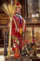 Amérique/Amérique du Sud/Pérou/Urcos : Eglise de Kanincunca Saint-Isidore patron des laboureurs et fresques