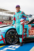 Ben Keating, #33 TF Sport Aston Martin Vantage AMR LMGTE Am 24 Hours of Le Mans , Group Photo, Circuit des 24 Heures, Le Mans, Pays da Loire, France