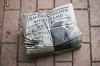 2020/04/30 Berlin | Corona-Verschwörungsanhänger | Zeitung
