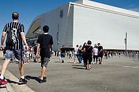 São Paulo (SP), 08/12/2019 - Corinthians-Fluminense - Movimentação da torcida antes do jogo. Partida entre Corinthians x Fluminense pela 38ª rodada do Campeonato Brasileiro, na Arena Corinthians, em São Paulo (SP), domingo (08).