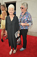 Dame Jacqueline Wilson DBE and guest at the South Bank Sky Arts Awards 2021, The Savoy Hotel, the Strand, on Monday 19 July 2021, in London, England, UK. <br /> CAP/CAN<br /> ©CAN/Capital Pictures