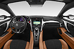 Straight dashboard view of a 2018 Acura NSX Exclusive 2 Door Coupe