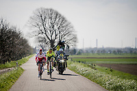 Kenneth Vanbilsen (BEL/Cofidis) & Tom Wirtgen (LUX/Wallonie-Bruxelles) are the first breakaway group<br /> <br /> 107th Scheldeprijs (1.HC)<br /> One day race from Terneuzen (NED) to Schoten (BEL): 202km<br /> <br /> ©kramon
