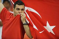 Washington, D.C.- May 29, 2014. Turkey fan. Turkey defeated Honduras 2-0 during an international friendly game at RFK Stadium.