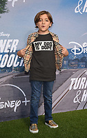 """LOS ANGELES, CA - JULY 15: Jeremy Maguire attends a premiere event for the Disney+ original series """"Turner & Hooch"""" at Westfield Century City on July 15, 2021 in Los Angeles, California. (Photo by Frank Micelotta/Disney+/PictureGroup)"""