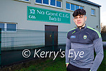 Oisin Maunsell, of Na Gaeil who will captain the Kerry minor football team against Cork.
