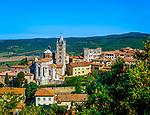 Italien, Toskana, Provinz Grosseto, Massa Marittima: Altstadt mit Dom | Italy, Tuscany, Province of Grosseto, Massa Marittima with cathedral