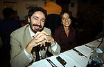 ANTONIO SOCCI CON LA MOGLIE ALESSANDRA GIANNI<br /> PREMIO LETTERARIO CAPALBIO 2002