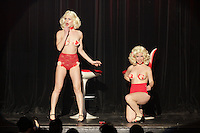 Les Jumelles<br />  burlesque dance show with Dita Von Teese at Olympia de Montreal, Sunday February 21, 2016.<br /> <br /> Photo : Raffi Kirdi<br />  - Agence Quebec Presse