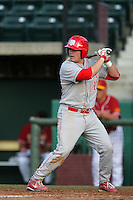 March 7 2010: Justin Howard of University of New Mexico during game against USC at Dedeaux Field in Los Angeles,CA.  Photo by Larry Goren/Four Seam Images