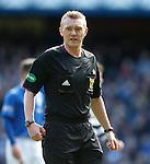 Referee Brian Colvin