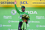 Peter Sagan (SVK) Bora-Hansgrohe retains the Green Jersey at the end of Stage 3 of Tour de France 2020, running 198km from Nice to Sisteron, France. 31st August 2020.<br /> Picture: POOL/BettiniPhoto | Cyclefile<br /> All photos usage must carry mandatory copyright credit (© Cyclefile | POOL/BettiniPhoto)