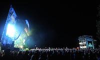 Highfield Festival 2014 auf der Magdeborner Halbinsel am Störmthaler See - im Bild: Auftritt der Band FETTES BROT.  Foto: aif / Norman Rembarz<br /> <br /> Jegliche kommerzielle wie redaktionelle Nutzung ist honorar- und mehrwertsteuerpflichtig! Persönlichkeitsrechte sind zu wahren. Es wird keine Haftung übernommen bei Verletzung von Rechten Dritter. Autoren-Nennung gem. §13 UrhGes. wird verlangt. Weitergabe an Dritte nur nach  vorheriger Absprache. Online-Nutzung ist separat kostenpflichtig.