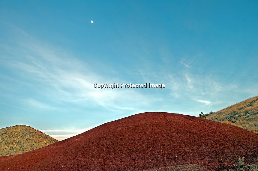 The Painted Hills unit, apart of the John Day Fossil Beds National Monument in central Oregon.