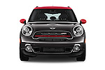 Car photography straight front view of a 2015 MINI Countryman John Cooper Works 5 Door Hatchback Front View