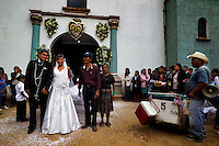 Traditional wedding. Oaxaca, Mexico.