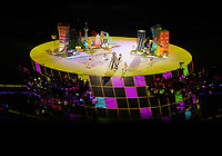 5th September 2021; Tokyo, Japan, 2020 Paralympic Games, closing ceremony: The performance during the closing ceremony