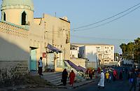 DJIBOUTI , mosque / DSCHIBUTI, Moschee in der Altstadt