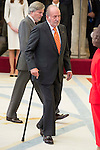 King Juan Carlos attends to the National Sports Awards 2015 at El Pardo Palace in Madrid, Spain. January 23, 2017. (ALTERPHOTOS/BorjaB.Hojas)