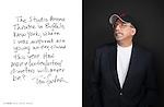 Tom Fontana photographed for ART & SOUL
