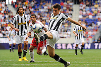 Michele Paolucci (27) of Juventus F. C. The New York Red Bulls defeated Juventus F. C. 3-1 during a friendly at Red Bull Arena in Harrison, NJ, on May 23, 2010.