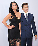 Catherine Zeta-Jones and Byung-hun Lee at The Summit Entertainment L.A. Premiere of RED 2 held at Westwood Village in Westwood, California on July 11,2013                                                                   Copyright 2013 Hollywood Press Agency