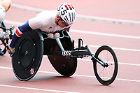 29th August 2021; Tokyo, Japan; Nathan Maguire (GBR), <br /> Athletics : Men's 400m T54 Round 1 <br /> during the Tokyo 2020 Paralympic Games at the National Stadium in Tokyo, Japan.