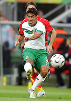 Carlos Salcido (3) of Mexico. Mexico and Angola played to a 0-0 tie in their FIFA World Cup Group D match at FIFA World Cup Stadium, Hanover, Germany, June 16, 2006.