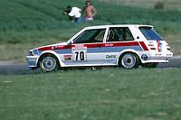 1989 British Touring Car Championship. Phil Dowsett. Toms Toyota Corolla.