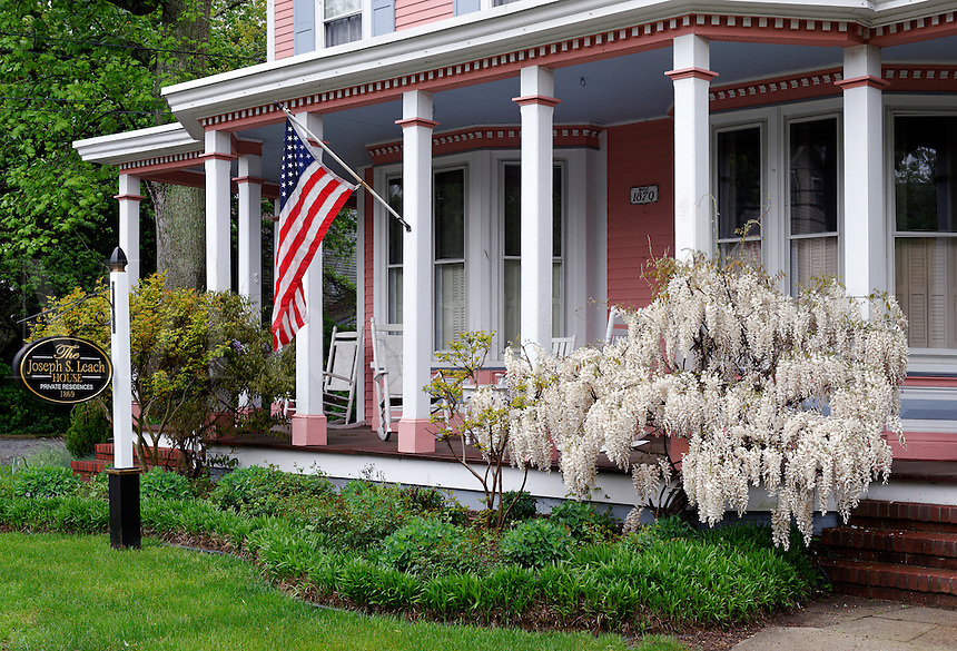 Victorian bed and breakfast, Cape May, New Jersey, USA