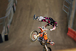 Ronnie Renner competes in the Moto X Freestyle elimination round during X-Games 12 in Los Angeles, California on August 5, 2006.