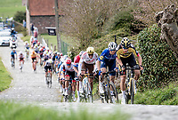 Wout van Aert (BEL/Jumbo-Visma) up the Paterberg<br /> <br /> 64th E3 Classic 2021 (1.UWT)<br /> 1 day race from Harelbeke to Harelbeke (BEL/204km)<br /> <br /> ©kramon