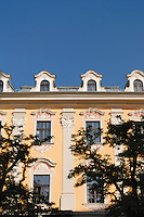 Poland, Krakow, Old houses