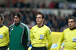 FIFA 2014 World Cup Qualifier - Wales v Croatia - Swansea - 26th March 2013 :  Referee  Luca Banti (Italy).