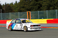HISTORIC TOURING CAR CHALLENGE - #2 DOUART ERIC (BE) BMW E30 M3 1988