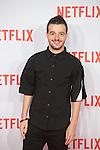 Fernando Tielve attends Netflix presentation in Madrid, Spain. October 20, 2015. (ALTERPHOTOS/Victor Blanco)