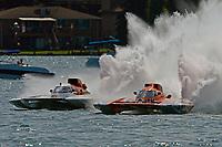 "Ken Brodie II, GP-50 ""Intensity"", Doug Rapp, GP-79 ""Bad Influence""       (Grand Prix Hydroplane(s)"