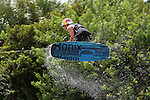 September 13, 2014:  Scenes from the WWA Wakeboard World Championships at Mills Pond Park in Fort Lauderdale, FL.  Men's  Professional Wakeboarder, Fort Lauderdale local, Steel Lafferty USA.  Liz Lamont/ESW/CSM
