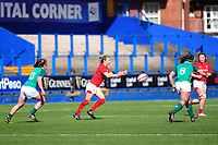 Elinor Snowsill of Wales in action during the Women's Six Nations match between Wales and Ireland at Cardiff Arms Park, Cardiff, Wales, UK. Sunday 17 March 2019