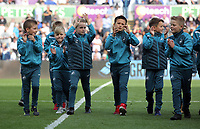 Academy youngsters during the Premier League match between Swansea City and Watford at The Liberty Stadium, Swansea, Wales, UK. Saturday 23 September 2017