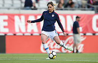 Jacksonville, FL - Thursday April 5, 2018: Morgan Brian during an International friendly match versus the women's National teams of the United States (USA) and Mexico (MEX) at EverBank Field.