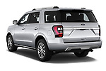 Car pictures of rear three quarter view of a 2019 Ford Expedition Limited 5 Door SUV angular rear
